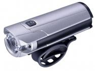 světlo INFINI TRON 800 přední 10W 5f USB silver