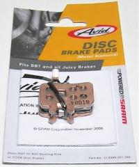 brzdové destičky AVID Juicy 7,5 sintrované