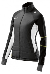 SKINS Plus Aura Womens Run Puffer Black/Cloud