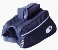taška VAPE trojúhelník přední 2x černá