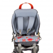 LittleLife Cross Country S4 Child Carrier grey