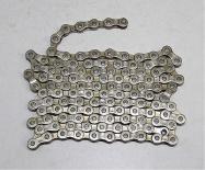 řetěz YBN S52-S2 7-8 speed nebalený X3-32 stříbrný