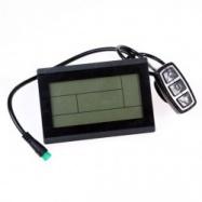 EVbike LCD Displej pro přímý pohon s ovládáním intenzity příšlapu (MR15) - EVBIKE