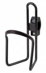 košík na láhev AL PRO-T na řidítka černý s objímko