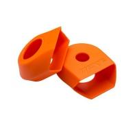 RACE FACE CRANK BOOT 2-pack, ochrana carbonových klik G4 medium oranžová