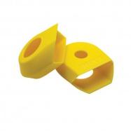 RACE FACE CRANK BOOT 2-pack, ochrana carbonových klik G4 medium žlutá