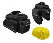 taška LONGUS Increaser na nosič 7,8l černá s bočn
