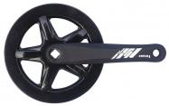 kliky 1-převodník MAX1 single 175mm/42z černý,kryt