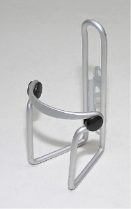 košík na láhev AL stříbrný+plasty