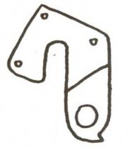 patka přehazovačky RM č.8 Cycl.ADR6
