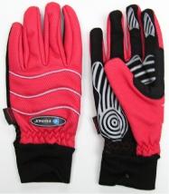 rukavice FORCE Windster červen