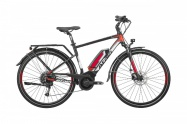 "Cross 28"" ATALA B-Tour S Man 19"" black/red/silver"