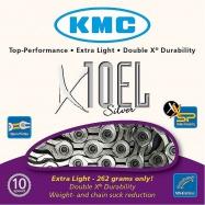 řetěz KMC X-10 EL Silver