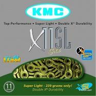 řetěz KMC X-11 SL Gold Superlight