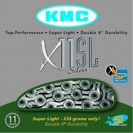 řetěz KMC X-11 SL Silver Superlight