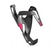 košík na láhev ELITE Vico Carbon black matt/pink