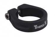 objímka sedlovky TRANZ-X na imbus 31,8 černá