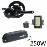 EVbike Přestavbová sada na elektrokolo 250W, 36V, displej C965, baterie 20Ah do rámu - EVBIKE