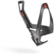 košík na láhev ELITE Rocko Carbon black matt/red