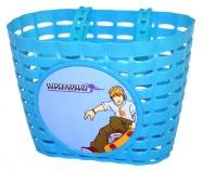 koš přední na dětské kolo modrý skate