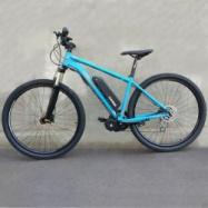 """EVbike Horské kolo GEOMY Spire D2, 29"""", rám 17"""", modrá matná barva, přestavba"""