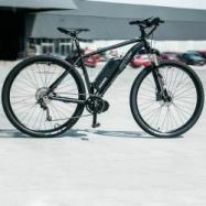 "EVbike Horské elektrokolo GEOMY Spire A1, 29"", rám 17"", černá matná barva, přestavba"