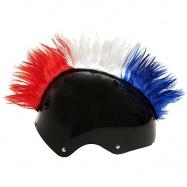 Crazy Uši ozdoba na helmu - Číro Wiggystyle Mohawk CZECH/USA