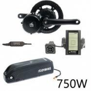 EVbike Přestavbová sada na elektrokolo 750W, 48V, displej C965, baterie 13Ah do rámu, gearsensor - EVBIKE