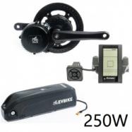 EVbike Přestavbová sada na elektrokolo 250W, 36V, displej C965, baterie 15,6Ah do rámu - EVBIKE