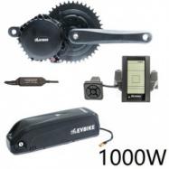 EVbike Přestavbová sada na elektrokolo 1000W, 48V, 68 mm, displej C965, baterie 13Ah do rámu, gearsensor - EVBIKE
