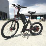 EVbike EVMosquit, celoodpružené elektro odrážedlo, výkon 750W, baterie 13Ah, černá matná barva