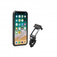 TOPEAK obal RIDECASE pro iPhone X černá/šedá