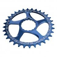 RACE FACE převodník SINGLE Direct Mount, N/W 32T 10-12SPD modrá