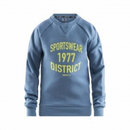 Mikina CRAFT District Crewneck JR