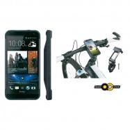 TOPEAK RideCase pro HTC One černá