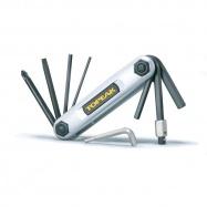 TOPEAK nářadí X-TOOL 10 funkcí stříbrná