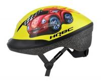 přilba HQBC dětská FUNQ Red car S žlutá
