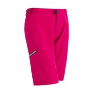 SENSOR CYKLO HELIUM dámské kalhoty krátké volné růžová