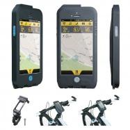 TOPEAK Weatherproof RideCase pro iPhone 5 černá/modrá