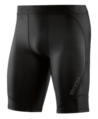 SKINS DNAmic Mens 1/2 Tights Black/Black L