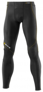 SKINS A400 Mens Black Long Tights S