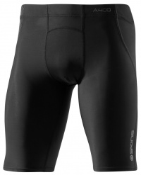 SKINS A400 Mens Black/Charcoal 1/2  Tights XL