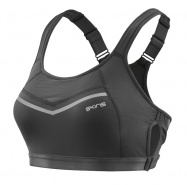SKINS DNAmic High Impact Womens Sports Bra Black