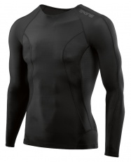 SKINS DNAmic Mens L/S Top Black/Black