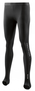 SKINS DNAmic Elite Recovery Womens Long Tights Black FXS