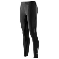 SKINS A200 Womens Black/Black Long Tights FXL