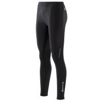 SKINS A200 Womens Black/Black Thermal long tights FXL