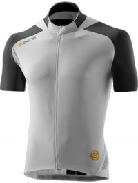 SKINS C400 Mens White/Grey S/S Jersey L