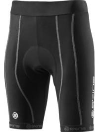 SKINS Cycle PRO Womens Black/Silver Shorts FM