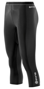 SKINS S400 Womens Black/Graphite/White Thermal 3/4 Tights FL